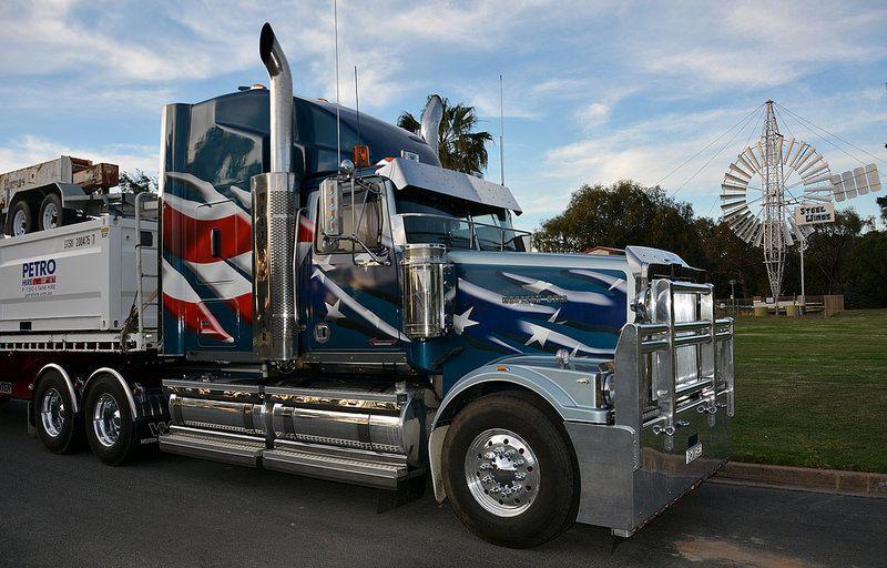 Headley Big rig trucks, Big trucks, Cool trucks