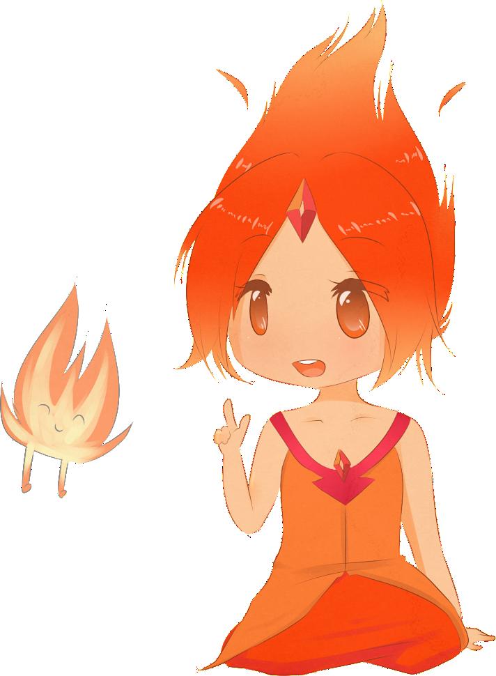 Flame Princess by natto-ngooyen on DeviantArt