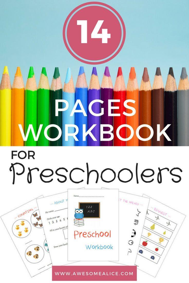 This workbook will help you teach your little preschooler about ...