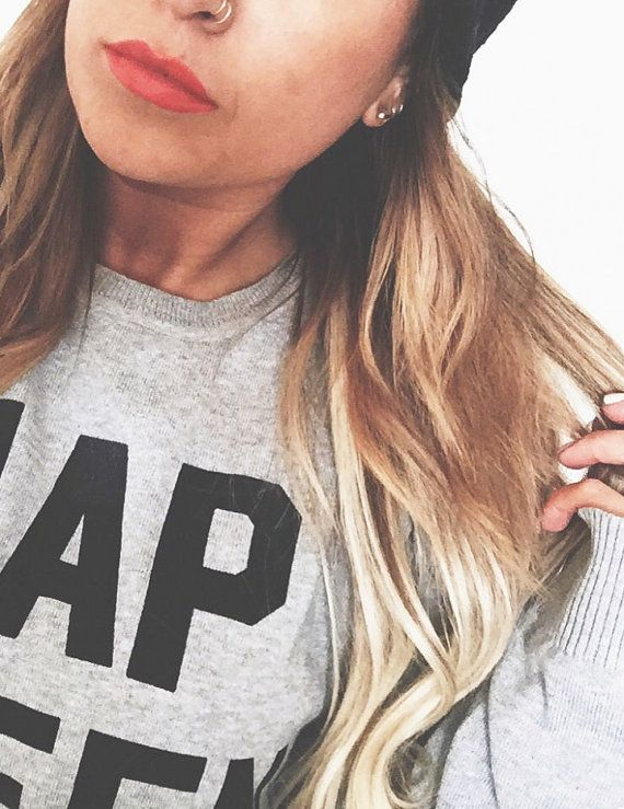 FREE SHIPPING   Unisex Hipster Sweatshirt / You by pebbyforevee