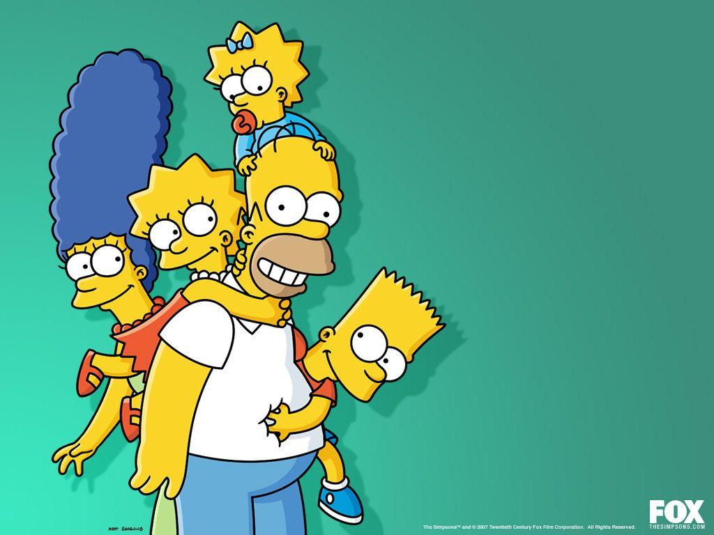 The Simpsons Cartoons Os Simpsons Papel De Parede Fofo