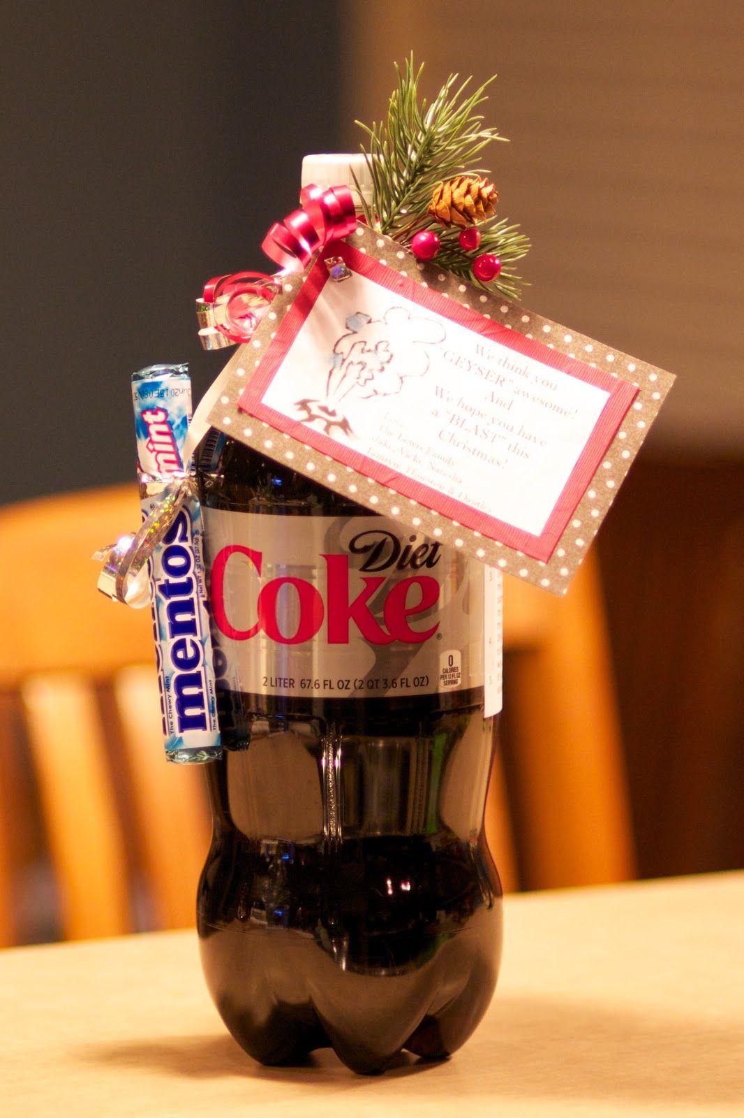 Geyser Gifts! | Neighbor christmas gifts, Easy diy ...