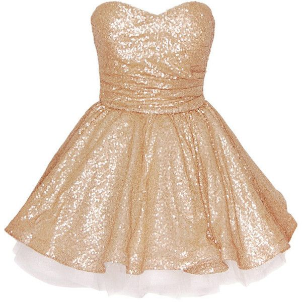 5f40a3d9f6 Gold Prom Dresses from Glitzy Angel. This stunning dress is perfect for  parties at Christmas. Short Dresses for going out.