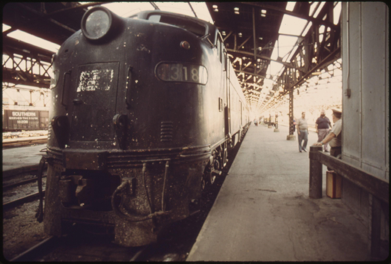 LOADING PLATFORM AT UNION STATION IN KANSAS CITY MISSOURI THE OLD - Chicago map union station