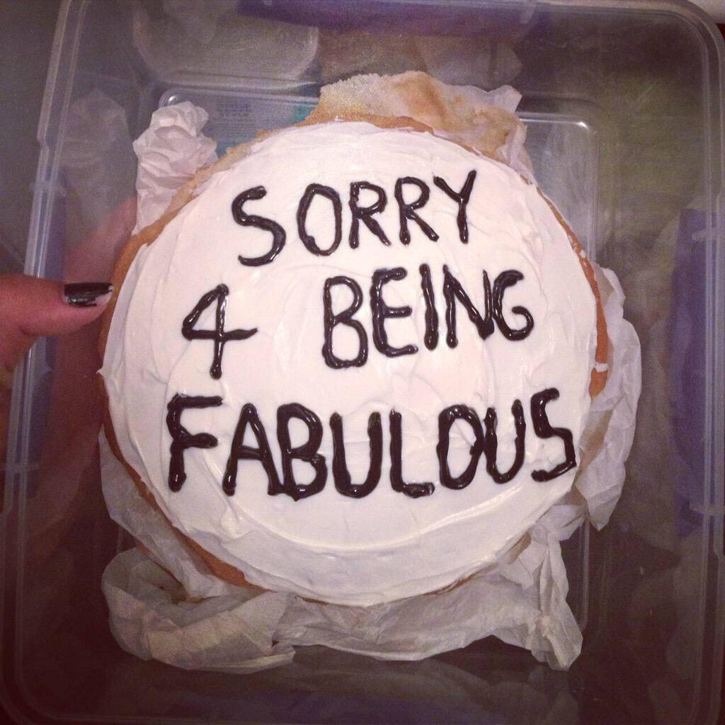 A cake about my life
