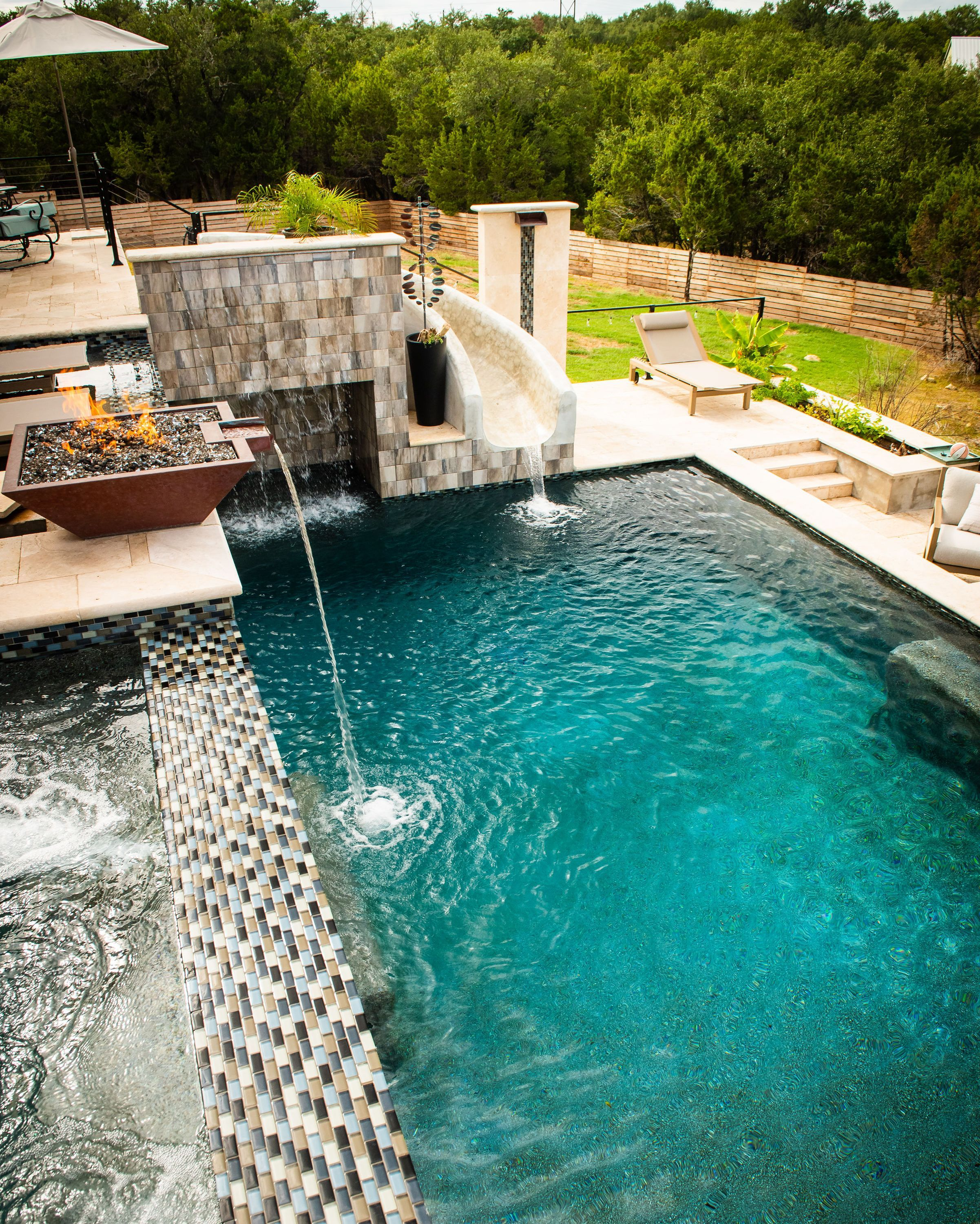 Beautiful Pool Designed By The Talented Team From Our Austin