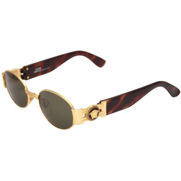 d16149ee7cd0 Pre-owned GIANNI VERSACE SUNGLASSES MOD S71 COL 030 (21 095 UAH) ❤ liked on  Polyvore featuring accessories