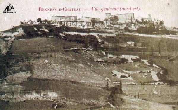 Saunière's 33 postcards of Rennes-le-Château