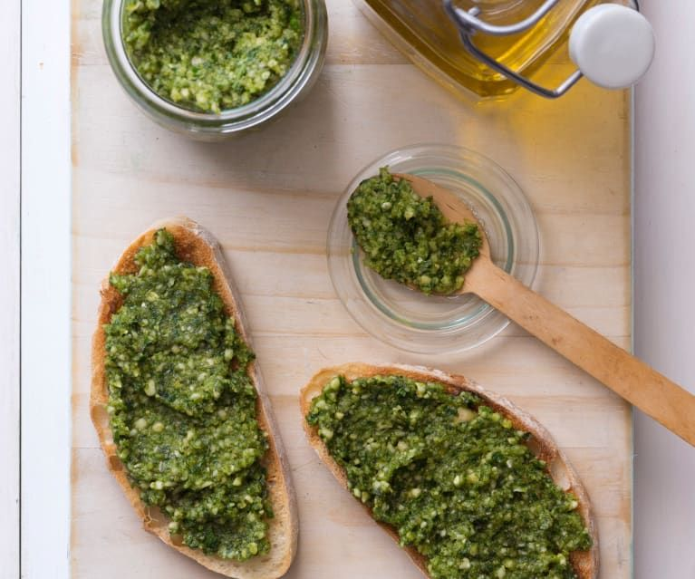 Chunky Basil Pesto Dip Recipe Pesto Dip Basil Pesto Thermomix Recipes