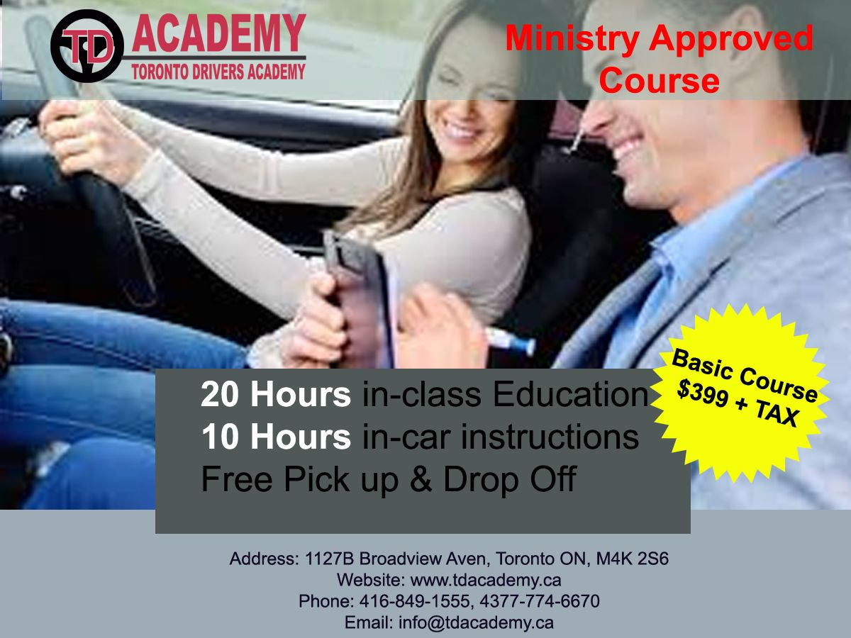 Get Driving training to ride with your loved ones