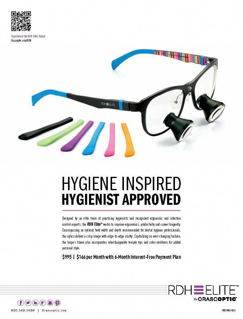 Check out our RDH Elite ad appearing in hygiene magazines