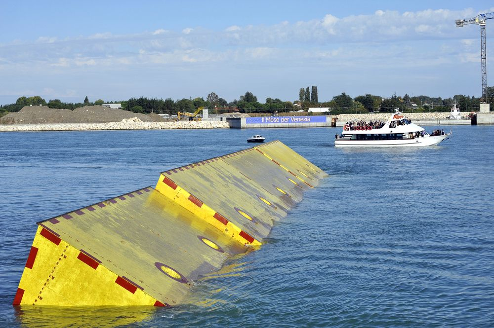 Shields up! Venice tests MOSE in 2020 Flood barrier