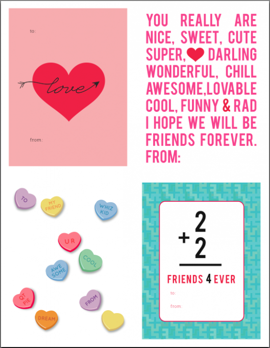 valentine's day printables | Valentine's Day | Pinterest