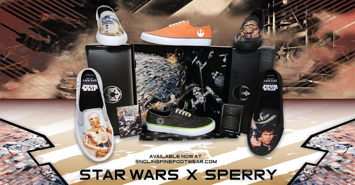 d517ceb1ab9c Shop the Star Wars x Sperry collection now at Englin s Fine Footwear ...