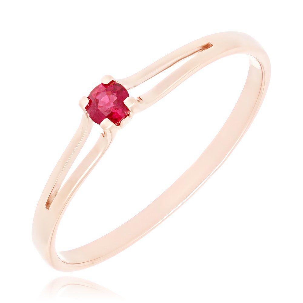Золотое кольцо с рубином купить, лучшая цена 10932 р., артикул (017251) 581201500ca