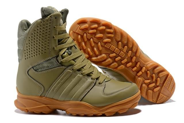 Cheap Adidas GSG 9.3  army Leather High Mens Boots To Worldwide and Free  Shipping 61921da332