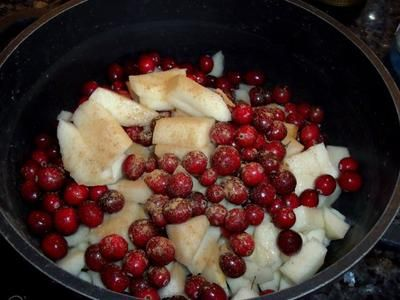 Rezept: Birnen-Cranberry-Marmelade Bild Nr. 2