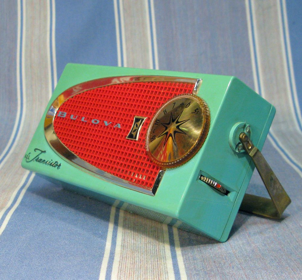 vintage transistor radios very expensive