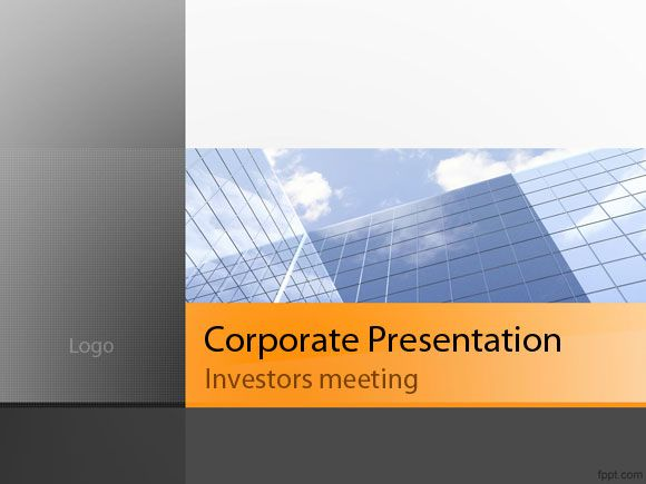 Free powerpoint template business or corporate presentations free powerpoint template business or corporate presentations flashek Gallery