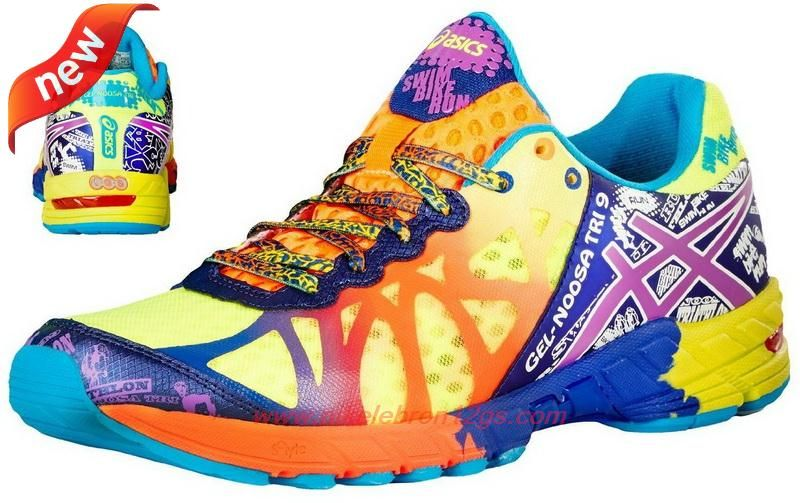 sneakers for cheap 03ae1 dc1d5 Womens Flash Yellow  Neon Purple Navy T408N-0436 Asics Gel Noosa Tri 9  Outlet USA