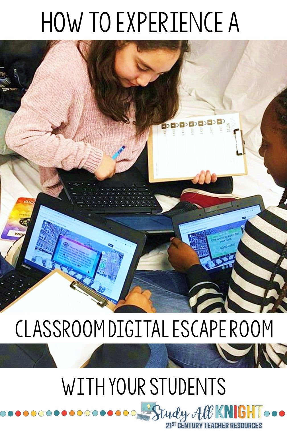 How to Experience Classroom Digital Escape Rooms | Teacher ...