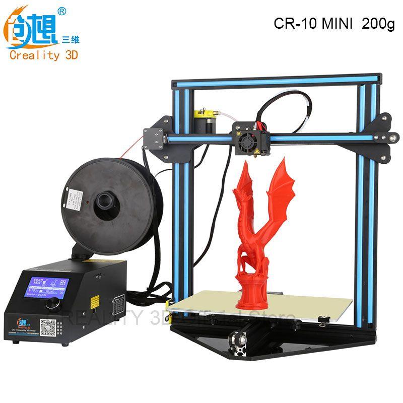 Cheap 3D Printer CREALITY 3D CR-10 MINI Large Print Size 300*220 - free resume printer