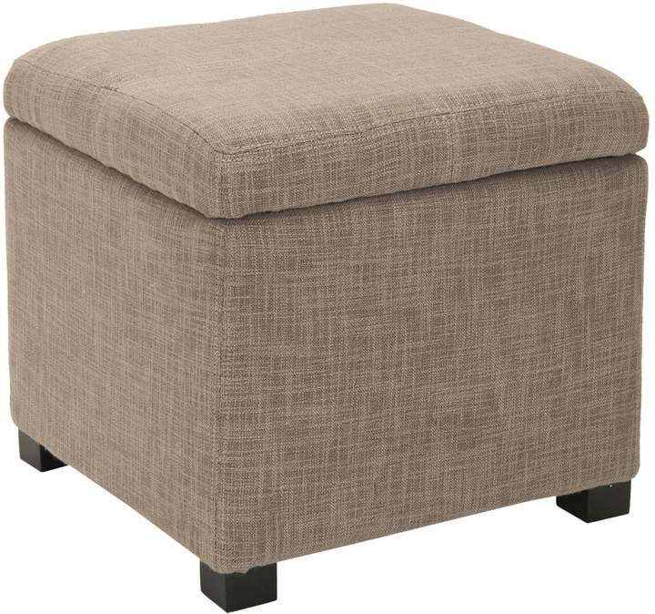Peachy Safavieh Madison Storage Ottoman Products In 2019 Square Ncnpc Chair Design For Home Ncnpcorg