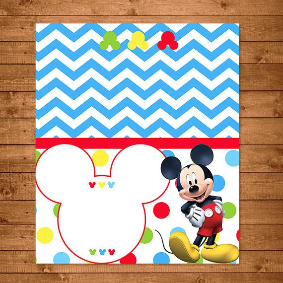 Mickey Mouse Food Tents Dots Chevron Mickey by NineLivesNotEnough  sc 1 st  Pinterest & Mickey Mouse Food Tents Dots Chevron Mickey by NineLivesNotEnough ...
