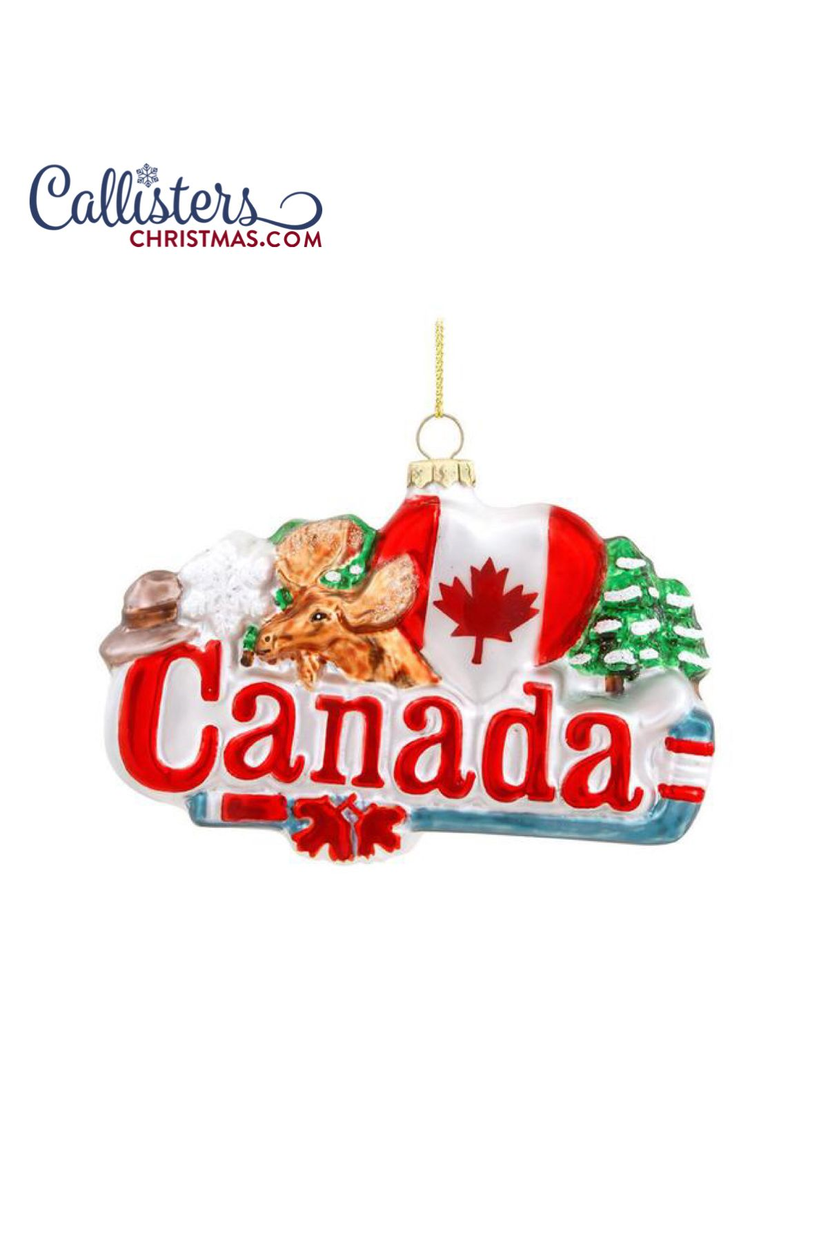 Canada Ornament Christmas Ornaments Personalized Christmas Ornaments Old World Christmas Ornaments