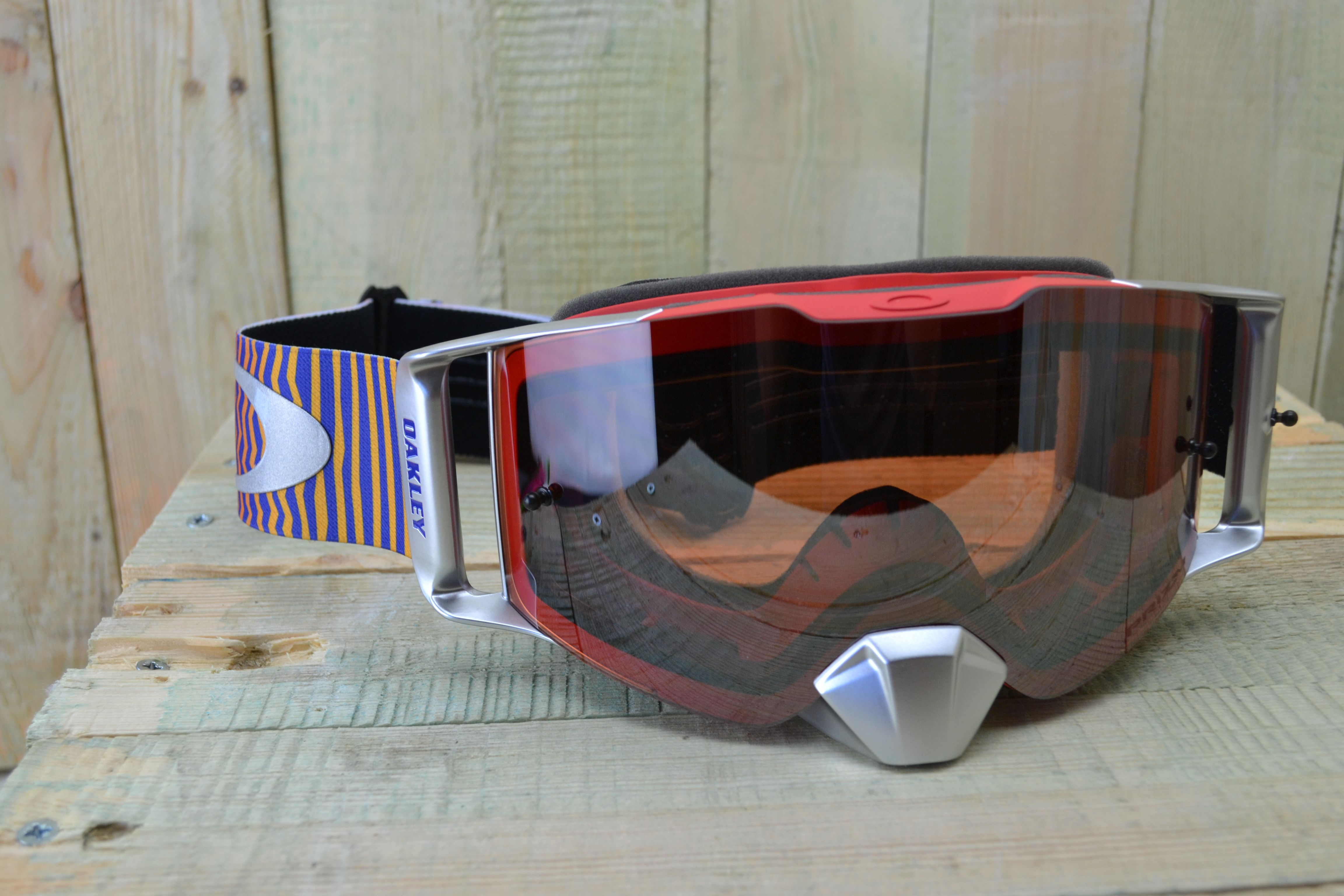 8cd2f81bab6 Oakley has released the all-new Front Line MX goggle as the latest addition  to