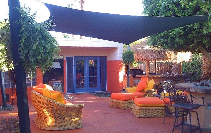 Ideas creativas para probar en tu terraza o jardín Diseño - sombras para patios