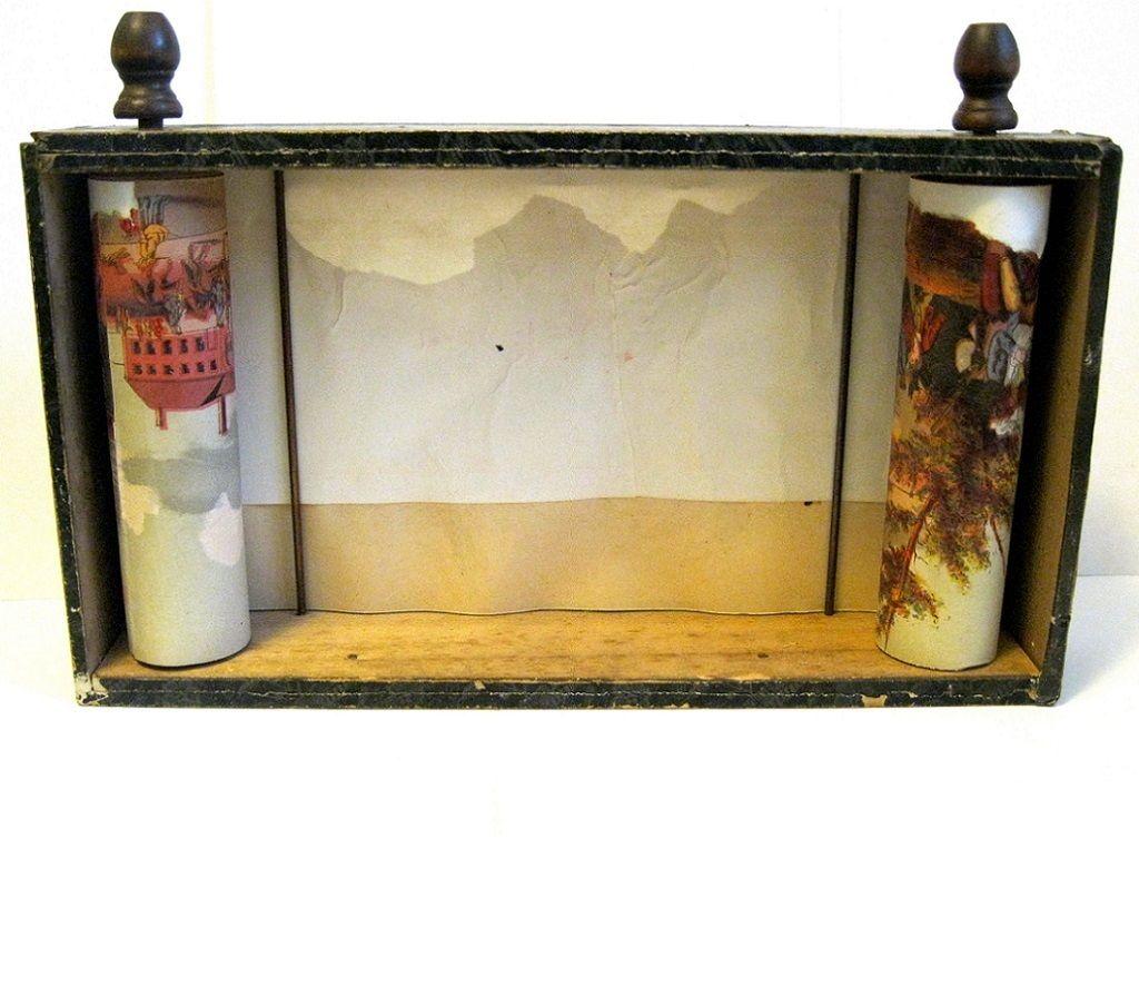Bradley Historiscope, Rare 1860s Paper Panorama Optical Toy ...