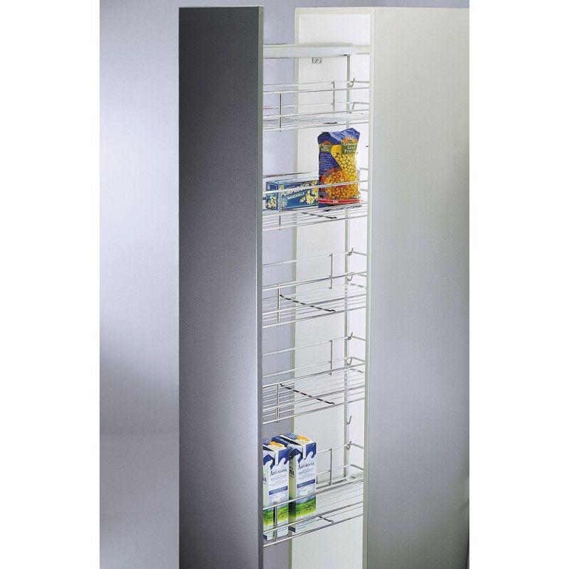 Columna para despensa con 5 cestos cromados - Armario despensa cocina ...