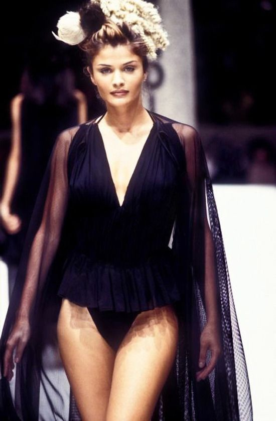 1996 Fendi Furs Fashion Magazine Print Ad: Fendi Spring/Summer 1993