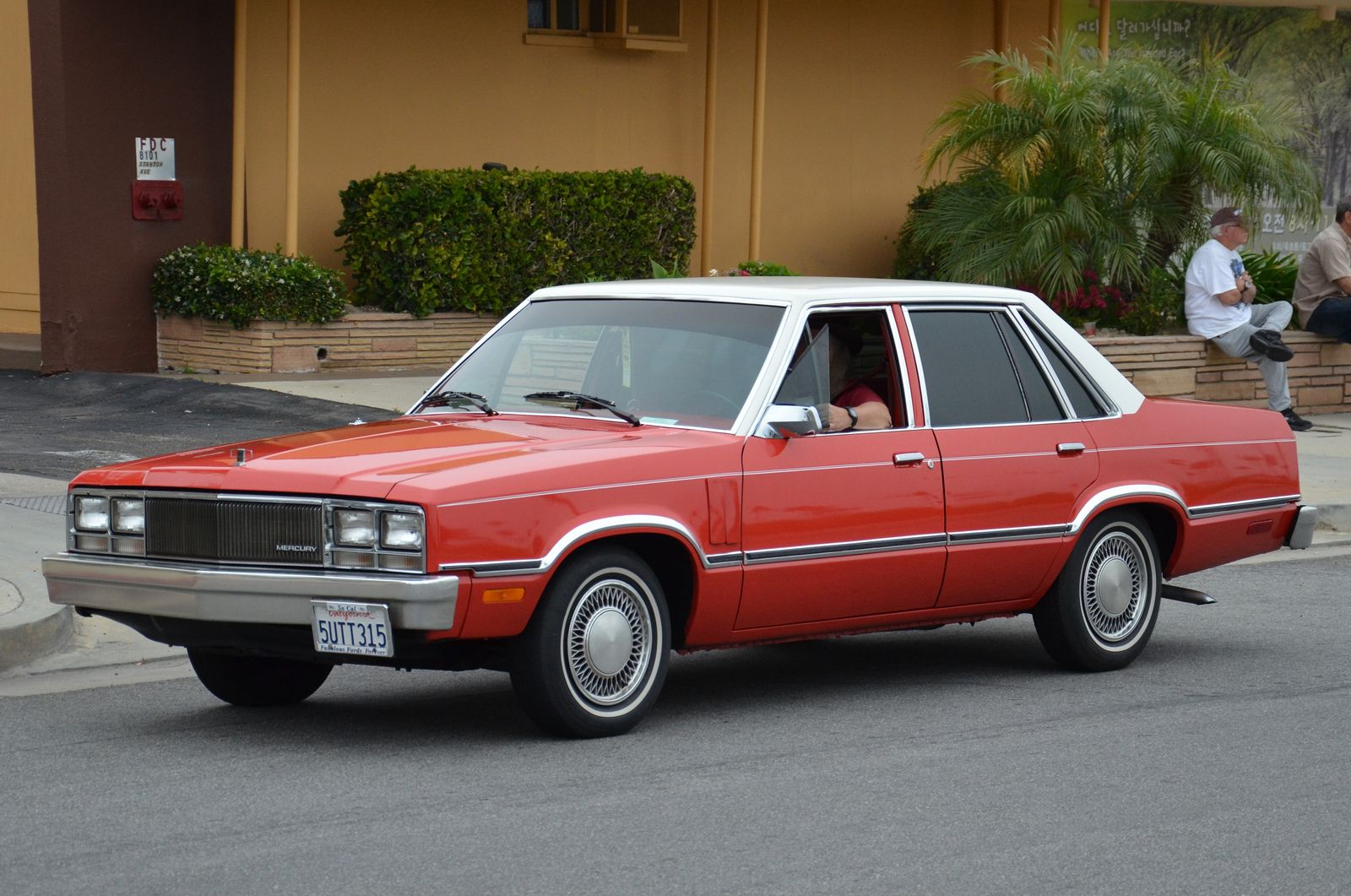 1978 Mercury Zephyr 4 Door Sedan Subcompact Sedan Ford Motor