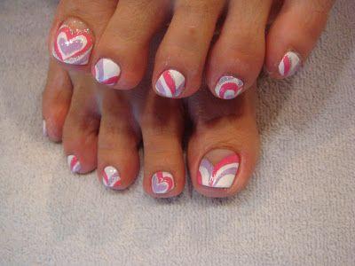 Toenail Designs Pedicure Nails Pinterest Beaux