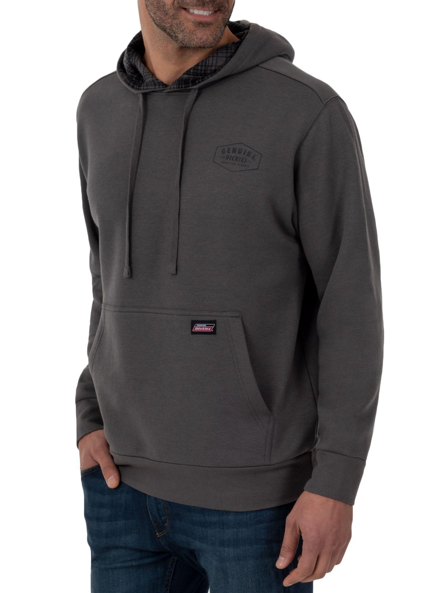 Dickies Genuine Dickies Men S Fleece Pullover With Flannel Lined Hoodie Walmart Com Lined Hoodie Mens Fleece Fleece Pullover [ 2000 x 1500 Pixel ]