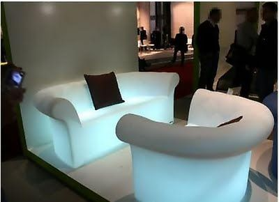 Illuminated Sofa Sirchester Outdoor Is Designed To Light Up