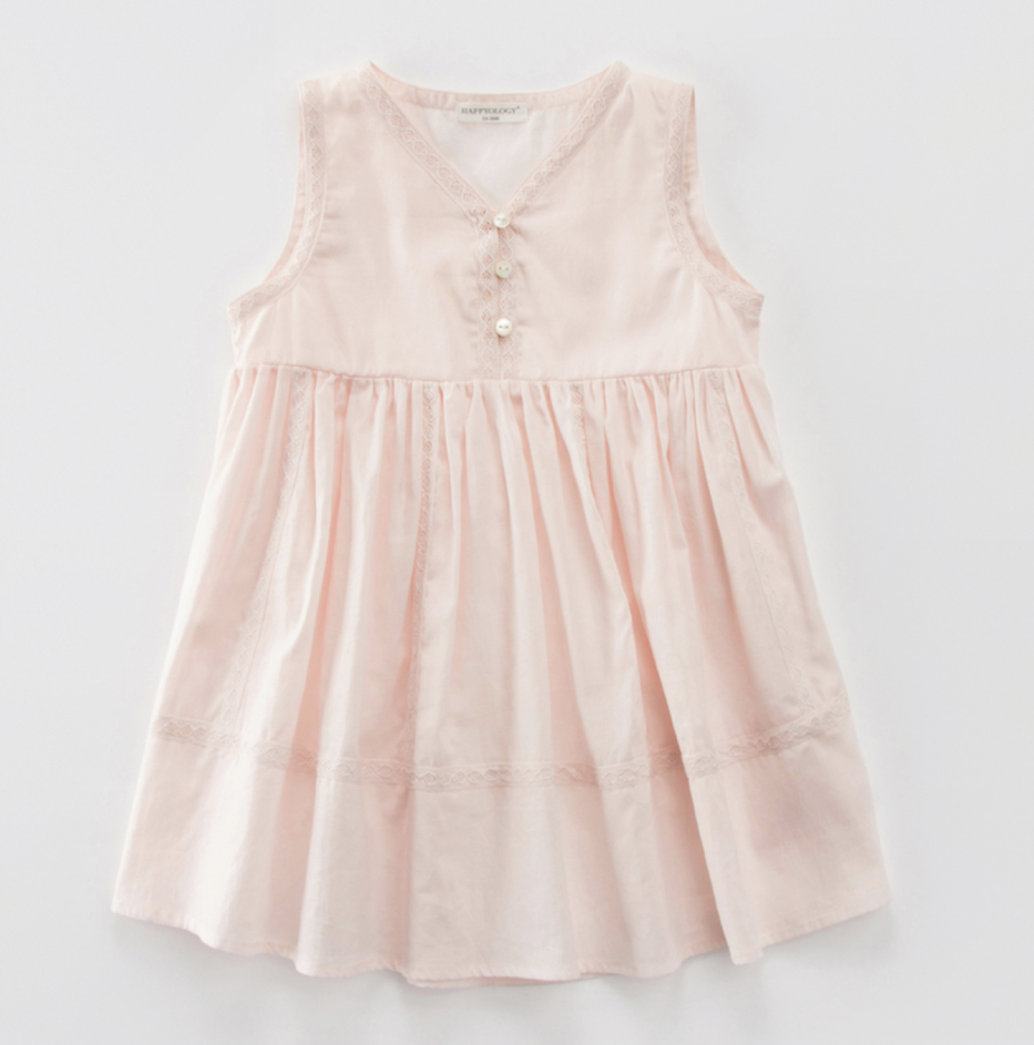 Chloe Dress, Pale Pink - GIRL (3-7y)