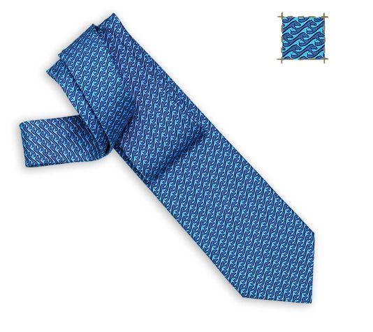 Krawatten Hermès Blue - Bedruckt - Herren   Hermès.com