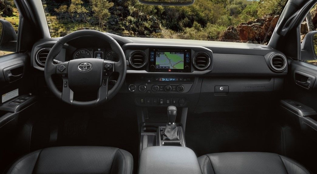 Interior 2020 Toyota Tacoma Toyota Tacoma Toyota Tacoma Interior Toyota