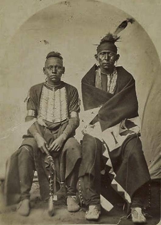 osage men Osage men (bacon rind sitting on far left) - no date.