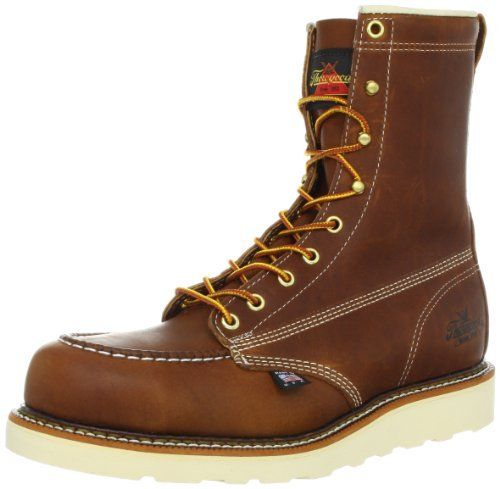 0a741363c2f Thorogood Men's Heritage 8 Inch Safety Toe Work Boot Thorogood ...