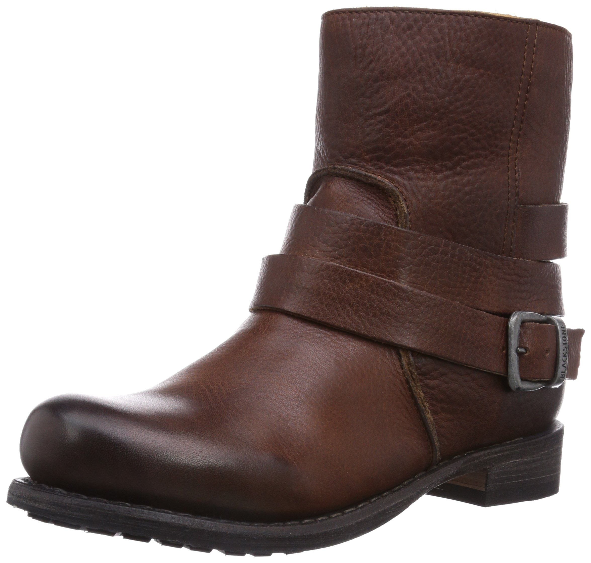 Blackstone IL95 OLD YELLOW SHEEPSKIN, Damen Biker Boots, Braun (old yellow),