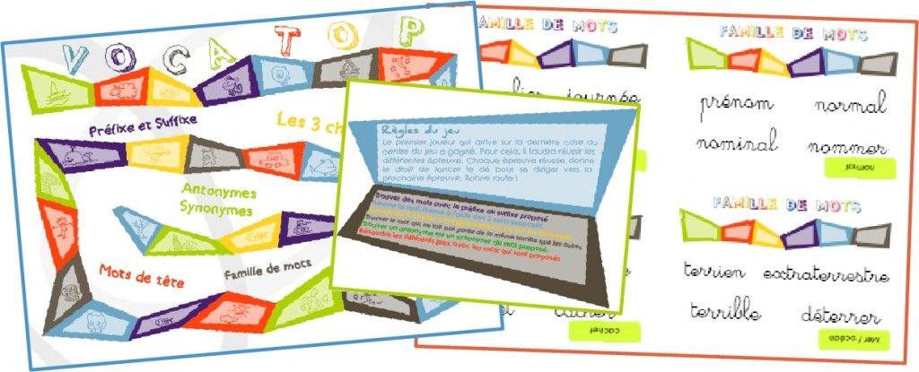jeu pour la classe vocatop jeu de vocabulaire cycle 3. Black Bedroom Furniture Sets. Home Design Ideas