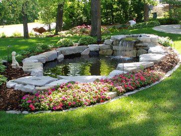 Garden Pond Ideas Pinterest