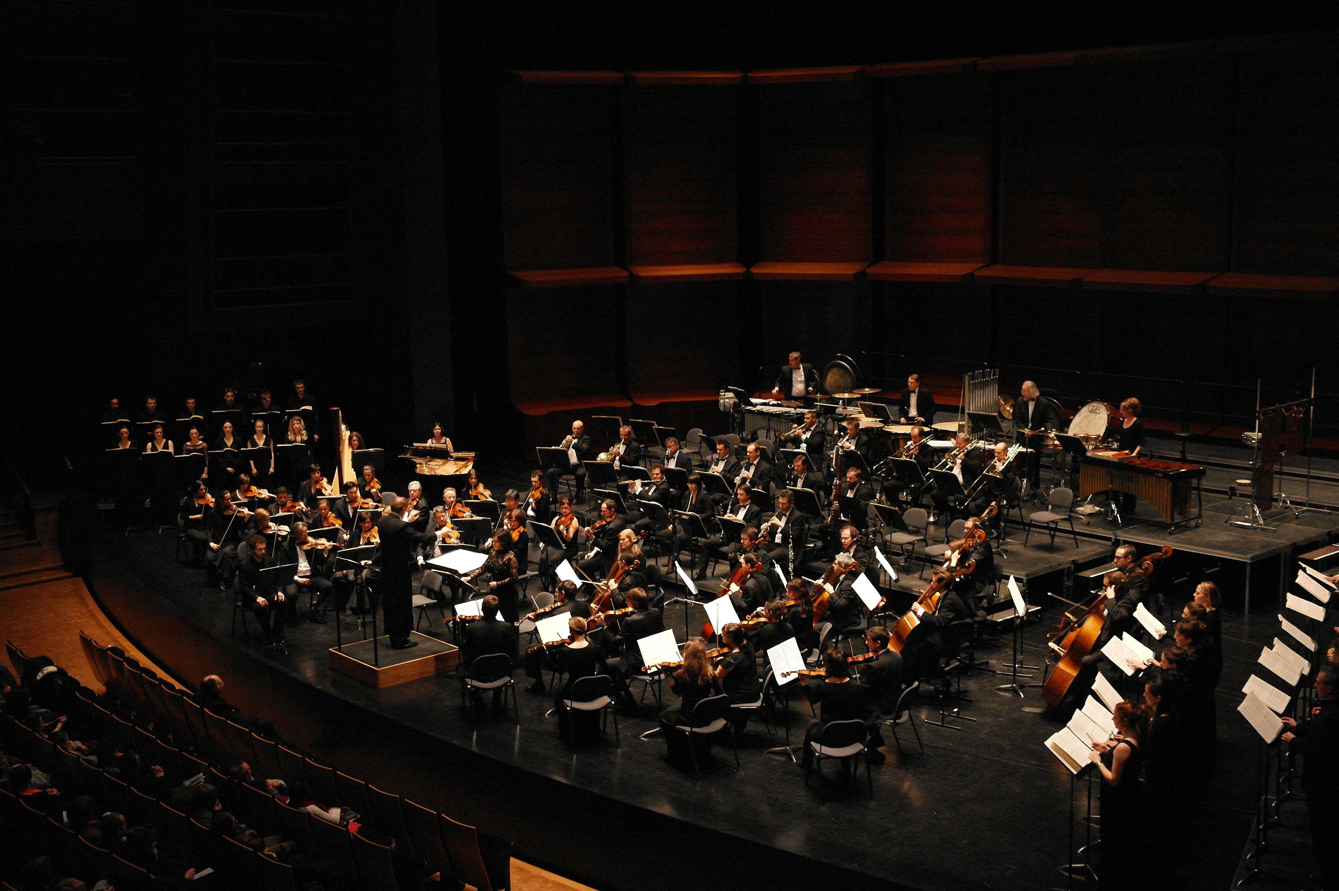 L'orchestre Dijon Bourgogne (c) Gérard Cunin