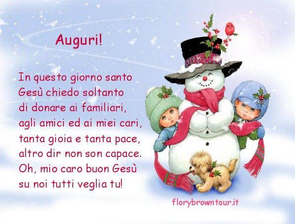 Poesie Di Natale In Rima.Bch Auguri Auguri Di Natale Per Bambini In Rima