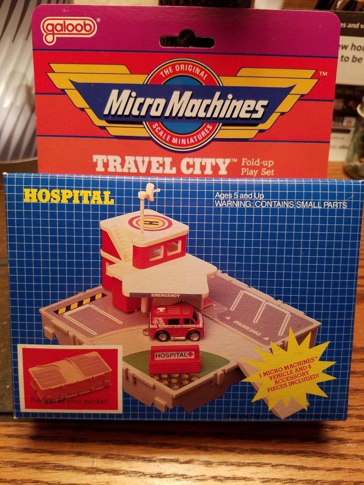 Micro Machines Travel City Hospital V2 Micromachines Mixedwithplayset Micro Machines City Travel Nostalgic Toys