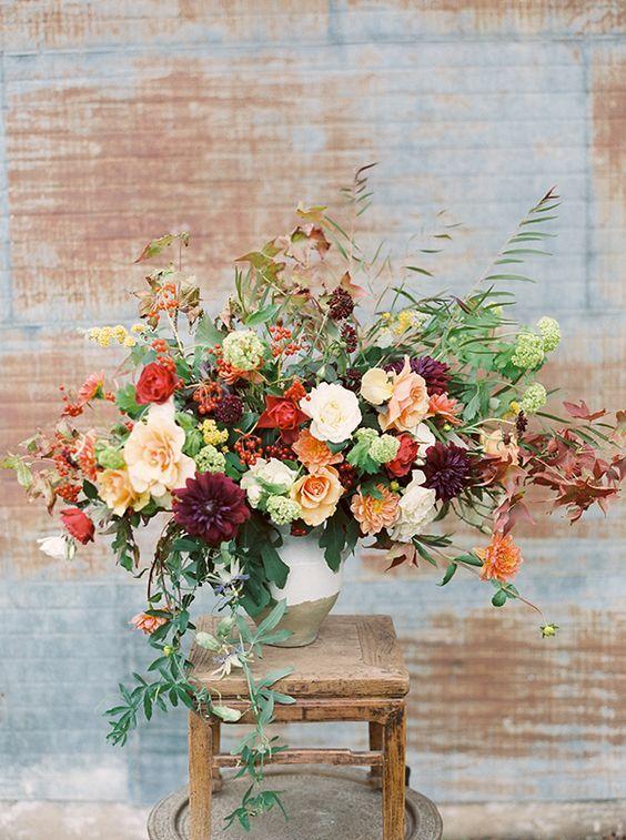 Nei Matrimoni Di Ottobre Per Bouquet E Decorazioni Non C E Fiore Piu Ad Composizioni Floreali Autunnali Composizioni Floreali Matrimonio Centrotavola Floreali